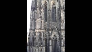 Cologne Cathedral bells ringing (Kölner Dom Glockengeläut). Köln, Germany. 17.09.2012