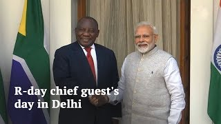 We are here to remember Gandhi and Mandela: South African President Cyril Ramaphosa