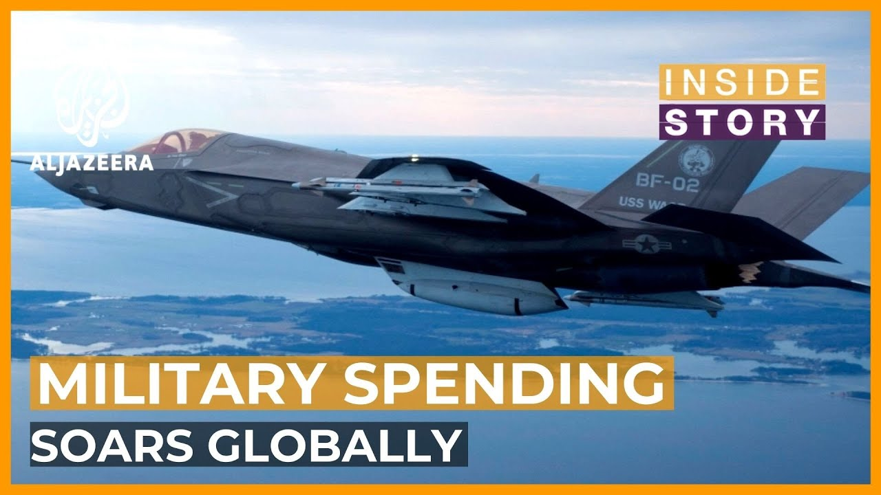 What's Fueling the Rise in Global Military Expenditure?