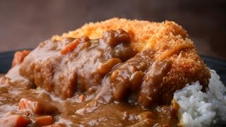Japanese Pork Cutlet (Tonkatsu) With Curry