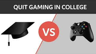 College Tips: How to Quit Gaming
