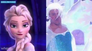 Elsa vs. Channing Tatum: Who 'Let It Go' Best? | WHOSAY