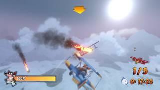 Crash Bandicoot: Mad Bombers - Platinum Relic (Time Trial)