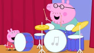 Peppa Pig English Episodes 🎉 Peppa Pig's Orchestra 🎉 Peppa Pig Official | 4K