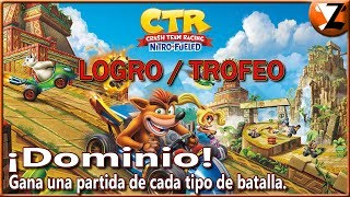 Crash Team Racing Nitro-Fueled: Logro / Trofeo ¡Dominio! (The Dominator!)