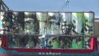 A Catania il più grande murales del mondo, è alto 10 piani