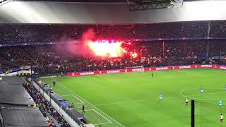 Pyro: Afscheid Champions League Feyenoord style