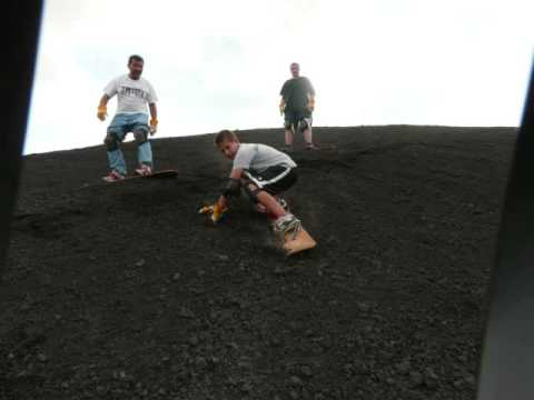 Cerro Negro Sandboarding – 2 June 2008