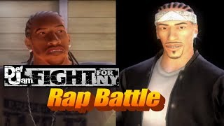 Def Jam Rap Battle | Ludacris VS Bizzy Bone