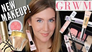 Trying NEW Makeup Products 2019 | GRWM + My Hair Color and Updates