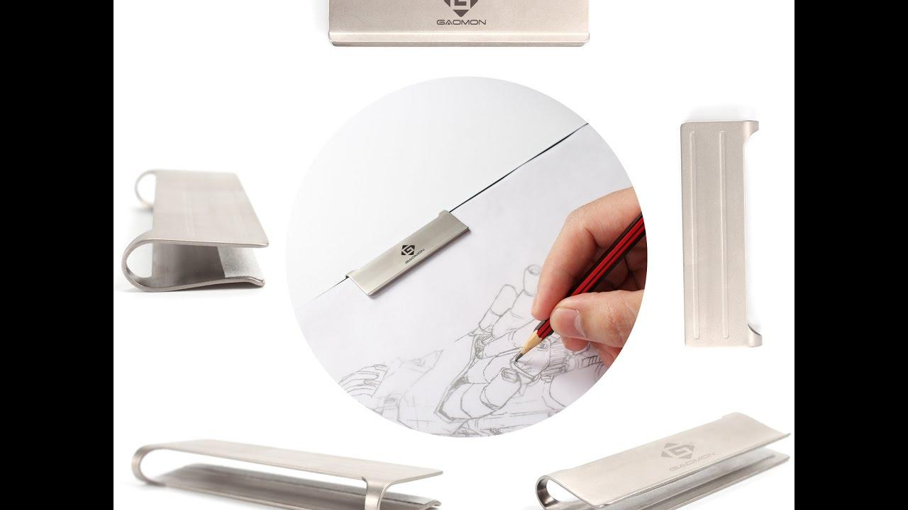 GAOMON Paper Clip for 5mm Thickness Light Box