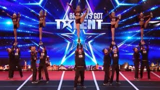 They Show Everyone What Cheerleader Could Be! AMAZING | Week 6 | Britain's Got Talent 2017