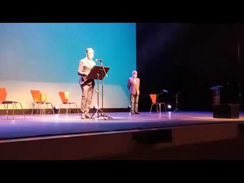 REBI SLU: Discurso Alberto Gómez agradeciendo la recepción del premio