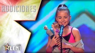 Daniela, la barbie rockera | Audiciones 2 | Got Talent España 2017