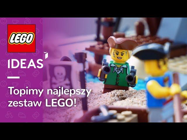 ROBIMY RAJSKĄ PLAŻĘ W JACUZZI 🏝️💦| LEGO Piraci z Zatoki Barakud 🏴☠️🏝️