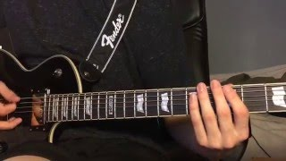 """Never Back Down"" - Nine Lashes {Guitar Cover} HD"