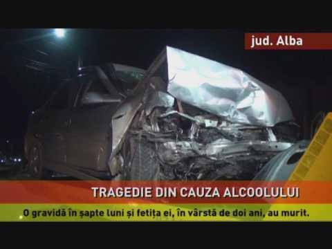 Accident teribil în Alba