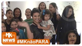 Aline Barros - Gravação do Coral Infantil para o CD Aline e Cia TimTim por TimTim - (#MKnãoPARA)