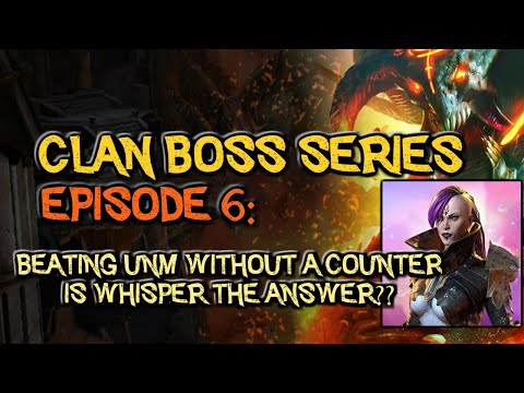 RAID: Shadow Legends | CLAN BOSS SERIES EPISODE 6: Beat the CB without Counter | Whisper the Answer?