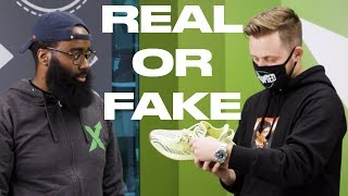 Real or Fake: Yeezy Busta + StockX bust fakes