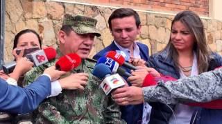 Saludo Comandante General Fuerzas Militares de Colombia