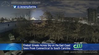 Did You See Fireball Streaking Across New Jersey Sky?