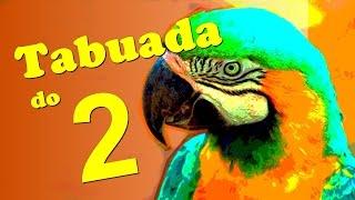 Tabuada 2 - Técnica infalível de memorização - Tema animais