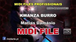 ♬ Midi file  - KWANZA BURRO  - Matias Damásio