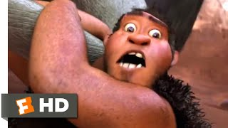 The Croods (2013) - Hunting For Breakfast Scene (1/10)   Movieclips