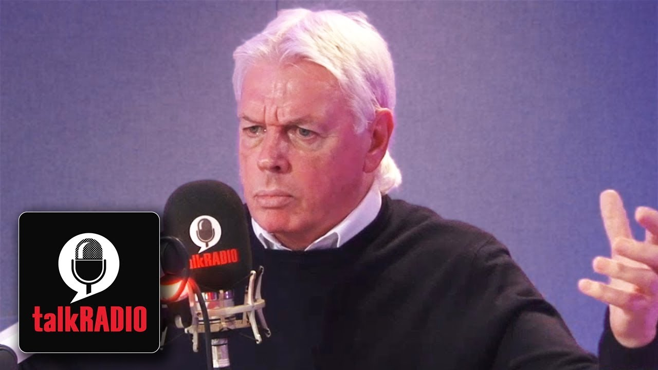 David Icke - Discusses Theories and Politics on the Future Society