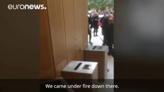 """Get back! Someone's opened fire!"" - panic inside Westminster parliament"