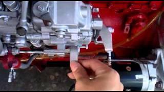 Hino diesel engine