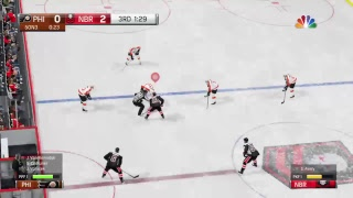 shavery's Live PS4 Broadcast of NHL 19 nb rookies first game
