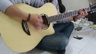 Jual Gitar akustik model YAMAHA APX500 @450rb'an(By Bakoel Gitar Surabaya)