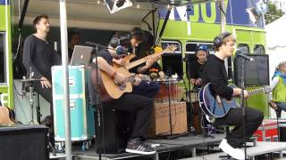 Die Rakede - St. Tropez - live & acoustic Reeperbahn Festival N-JOY Reeperbus Hamburg 2013-09