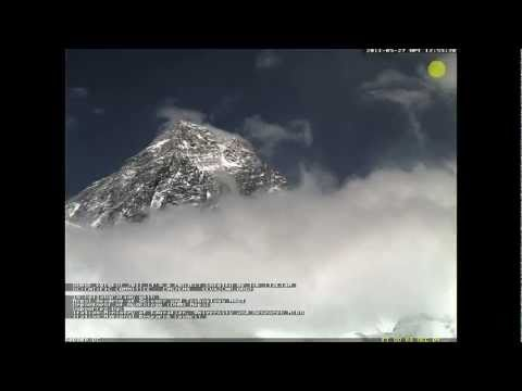Two days in nepal mountains (webcam timelapse)