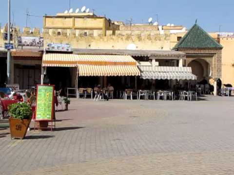 Meknes plaza   call to prayer
