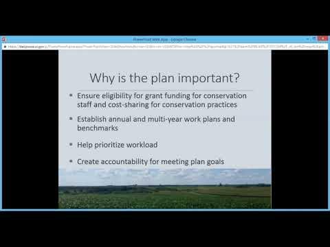 Land and Water Resource Management (LWRM) Plans Training Webinar