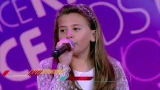 Maria Fernanda da Costa canta 'Xote das Meninas' no The Voice Kids - Audições   Temporada 1