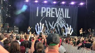 I prevail - Rise at Heavy Montreal 2018 HD