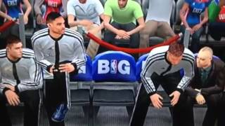 NBA 2K13 Glitch Feat. Griffin, Westbrook and Lee