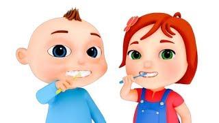 Brushing Song (Single) | Good Habits For Kids | Baby Songs | Videogyan 3D Rhymes | Nursery Rhymes