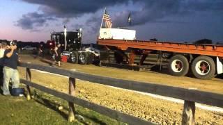 Rosebush Truck Pulls  do it upside down 2012