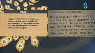 Meal - Kitabımız Kur'an-ı Kerim