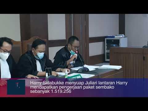 Pengusaha Harry Sidabuka Didakwa Suap Juliari Batubara Rp1,28 Miliar