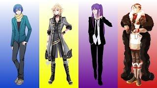 【Yohioloid, Kaito, Gakupo, Big Al】Gambling Man【Vocaloid】