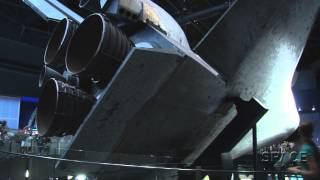 Space Shuttle Atlantis Exhibit Gets You Up Close With Orbiter | Video