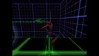 Spider-Man: The Movie Game - Basic Swing Training (Easy)