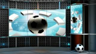 sport virtual set studio tv footage background