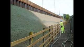 M25 Road Widening and Erosion Work